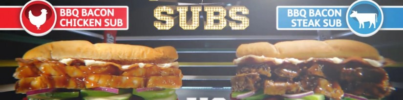 Subway BBQ Bacon Subs – Flavour vs Flavour: Advertisement
